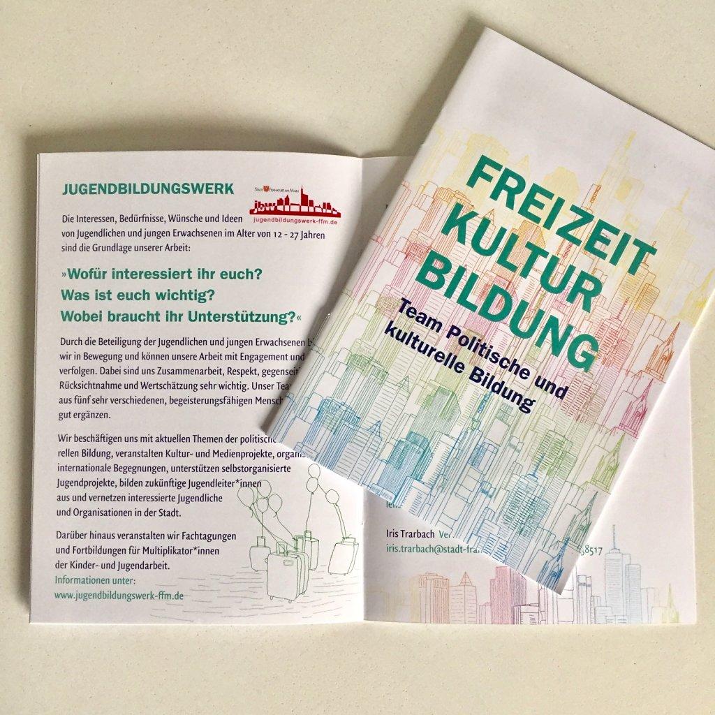 Freizeit Kultur Bildung – Imagebroschüre