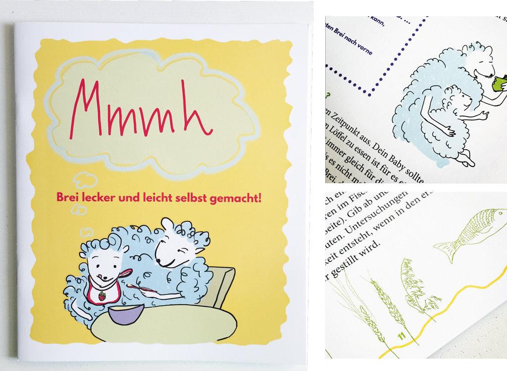 Mmh. Das Breikochbuch für junge Eltern. Gestaltung und Illustration | Lektorat: Paul Kaltefleiter, nipp-nau.de